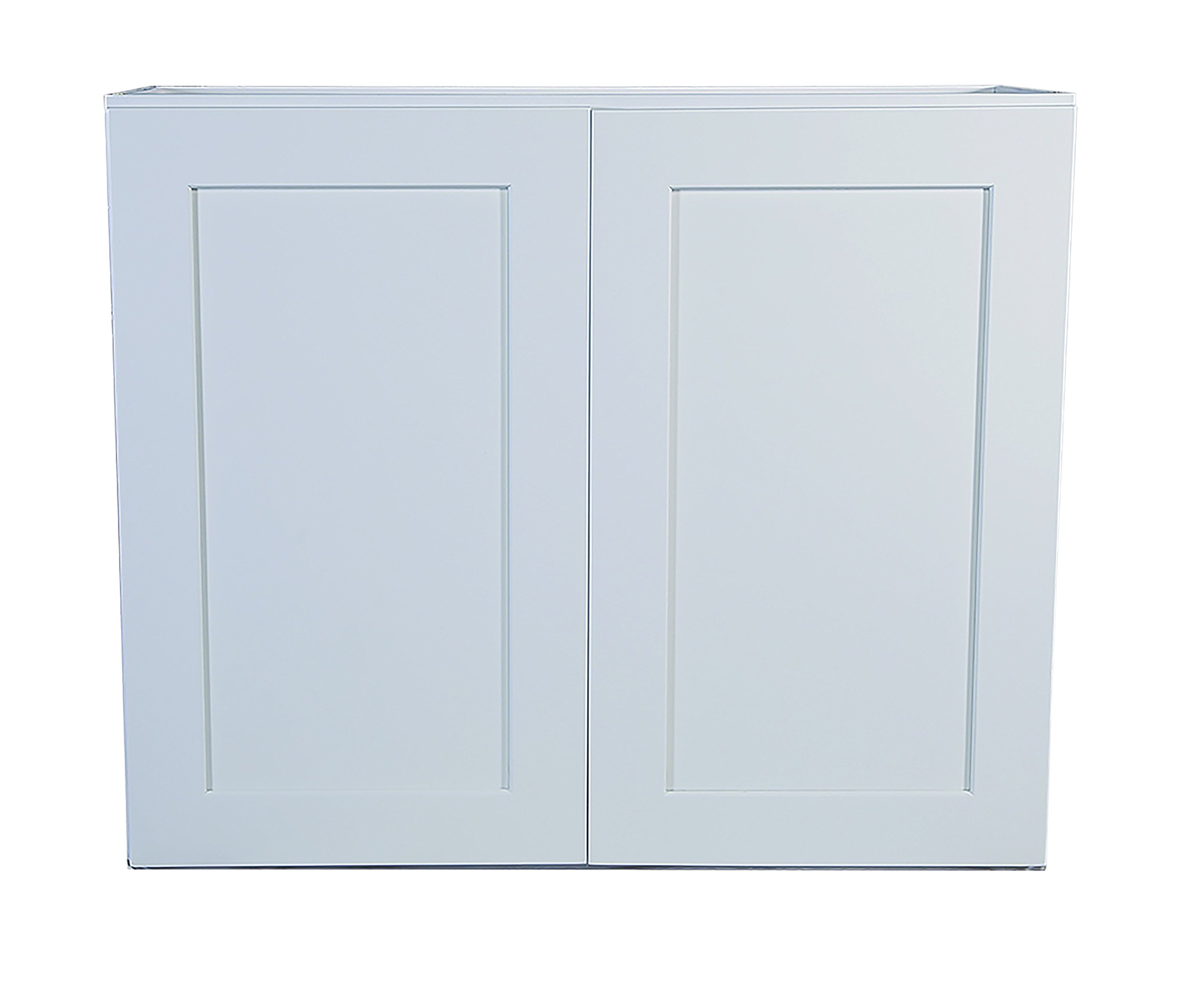 Design House Brookings 33-Inch Wall Cabinet, White Shaker by Design House