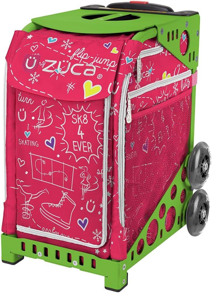 ズカスポーツバッグ - ピンク SK8 グリーン
