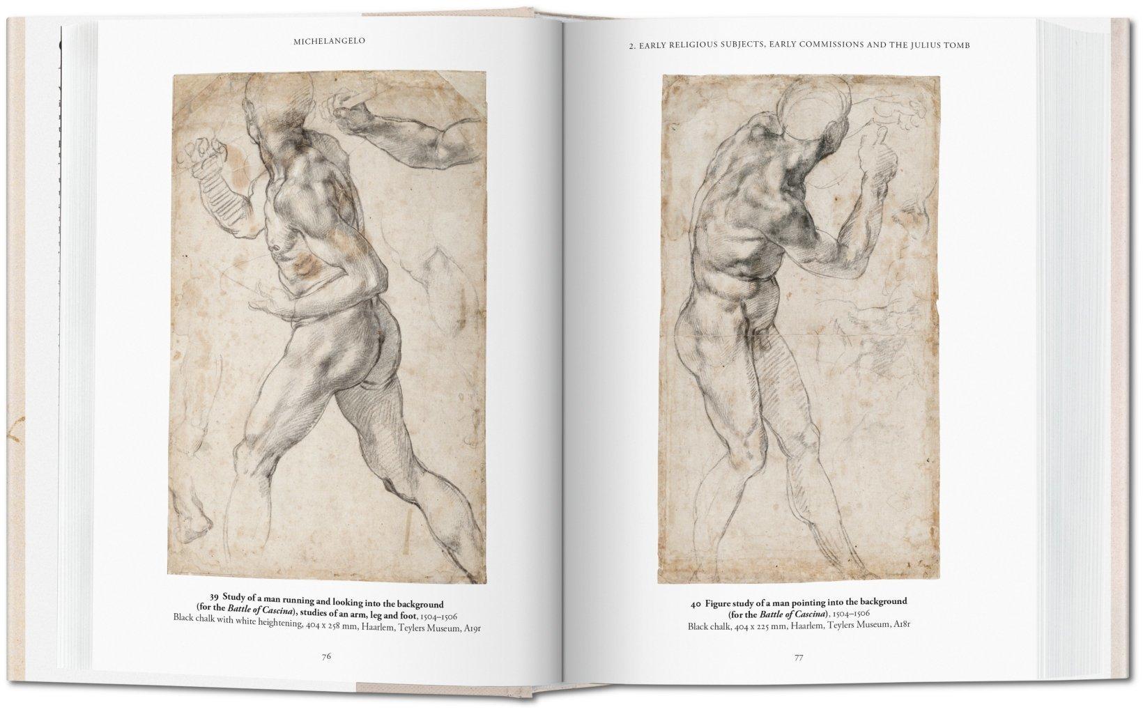 Michelangelo The Graphic Work Thomas Ppper 9783836537193 Amazon