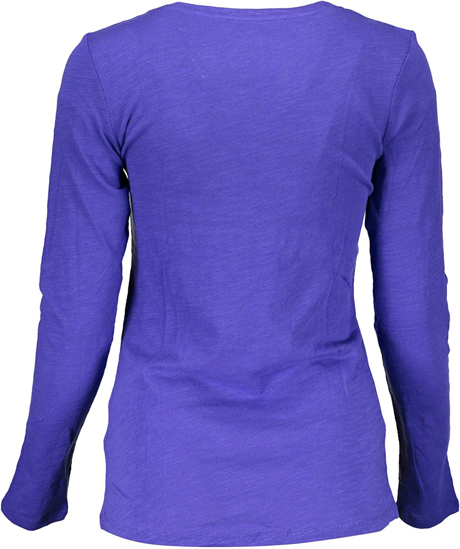 Liu Jo WXX021 JC698 T-Shirt Maniche Lunghe Donna Rosso 71635 S