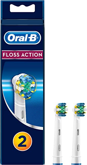 Oral-B Floss Action Diş Fırçası Yedek Başlığı, 2 Adet
