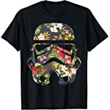 Star Wars Tropical Stormtrooper Floral Print Graphic T-Shirt T-Shirt