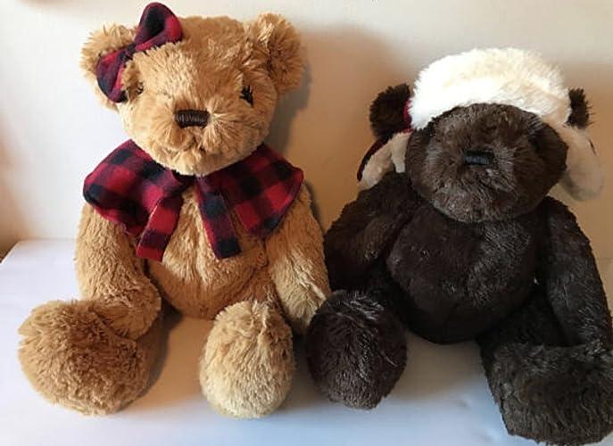 Amazon Com Weighted Stuffed Animal Teddy Bear 3 Lbs Sensory Toy