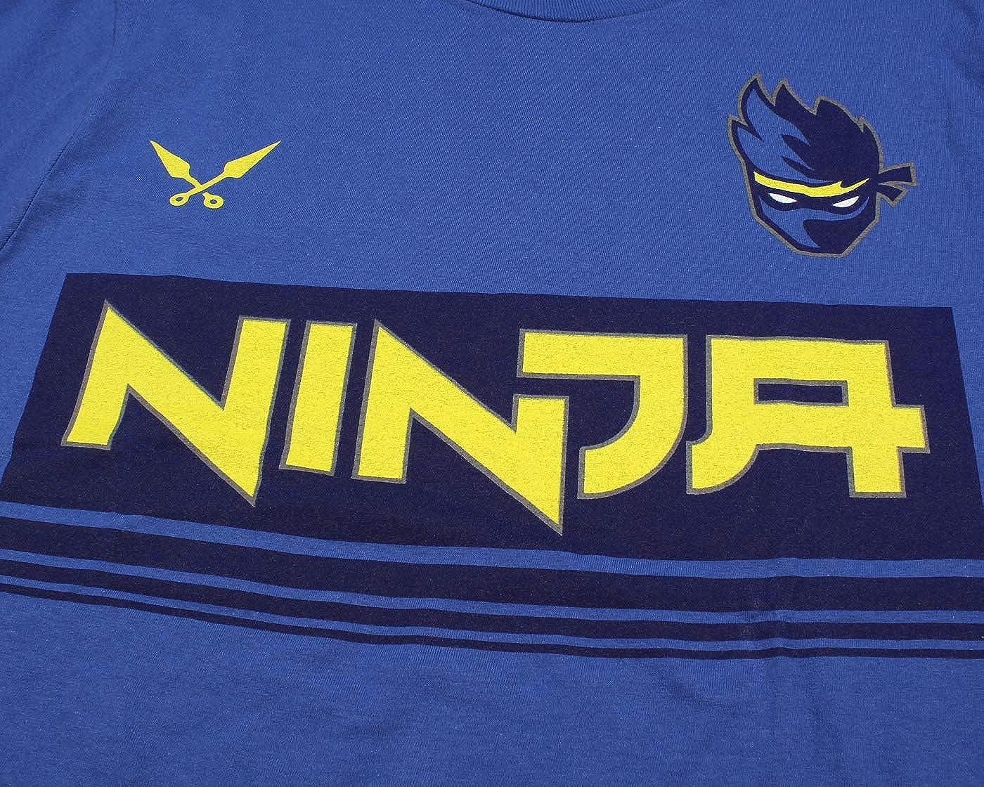 Amazon.com: Ninja Camiseta para hombre NinjasHyper Logo ...