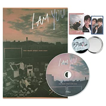 STRAY KIDS 3rd Mini Album - I am YOU [ I AM ver  ] CD + Photobook + 3 QR  Photocards + FREE GIFT / K-Pop Sealed