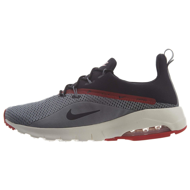 new product 05dda b9303 Amazon.com   Nike Men s Air Max Motion Racer 2 Sneakers, Grey Black   Road  Running