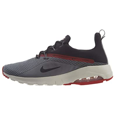 fcc8bfefdf Amazon.com | Nike Men's Air Max Motion Racer 2 Sneakers, Grey/Black | Road  Running