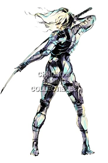 Amazon.de: CGC Große Poster - Metal Gear Solid 2 PS2 PS3 - mgs202 ...