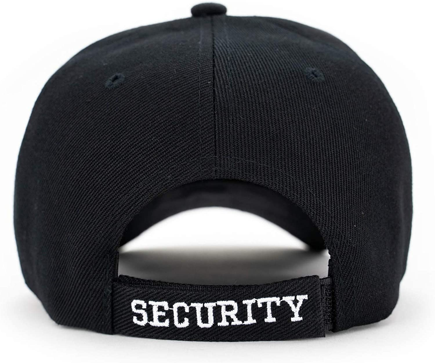 First Class Security Cap with ID On Front Peak and Back