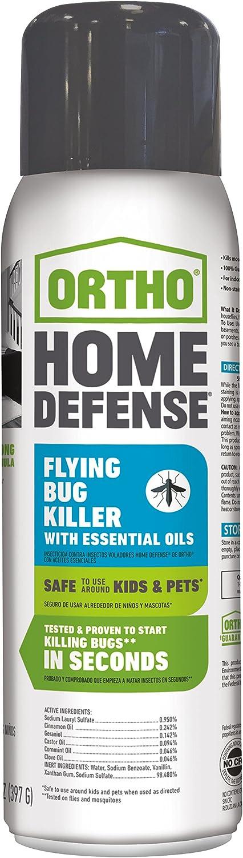 Ortho Home Defense Flying Bug Killer with Essential Oils Aerosol 14 OZ