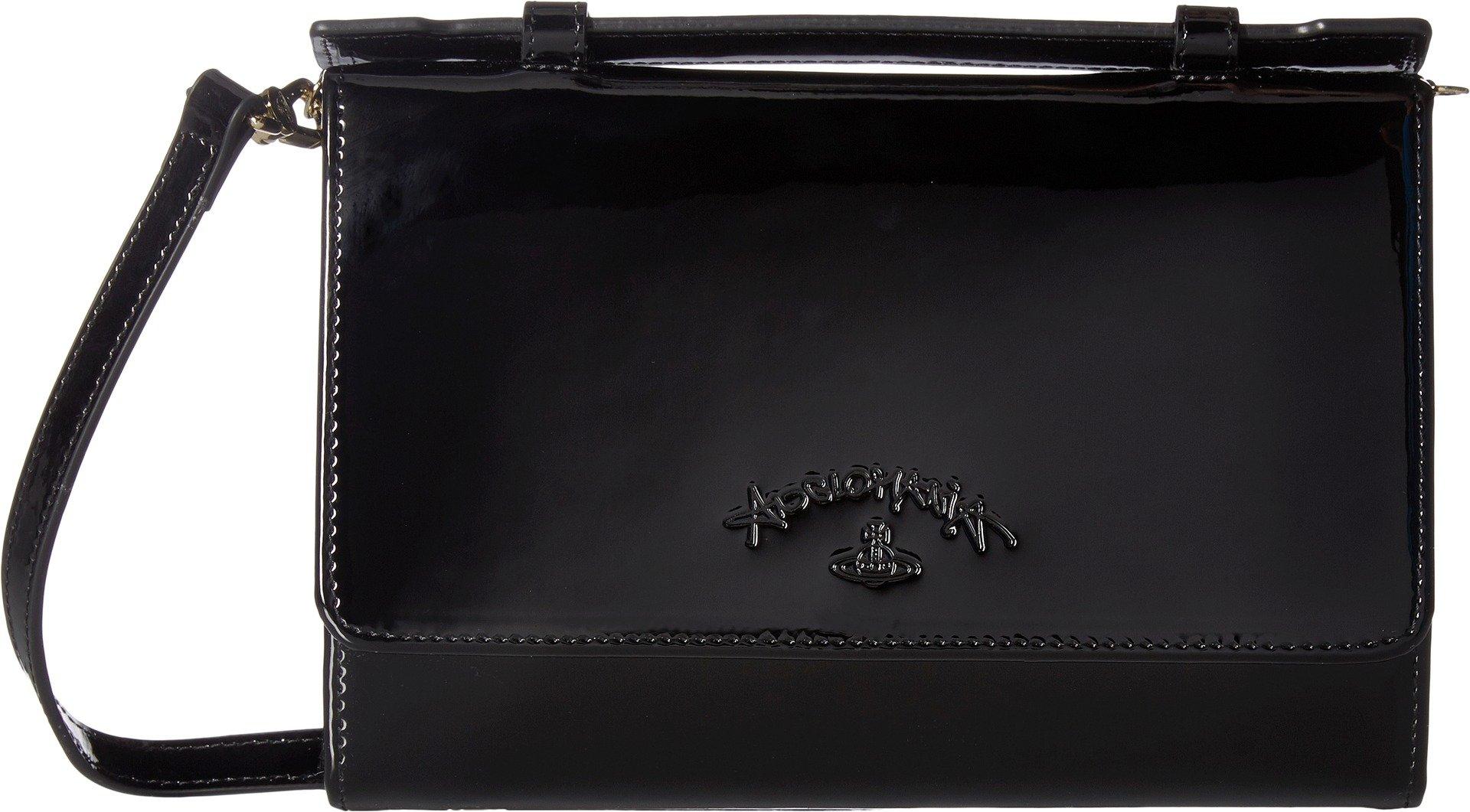Vivienne Westwood Women's Travel Wallet Black One Size