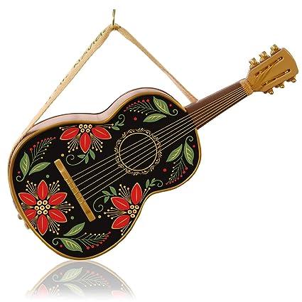 40494a173e8d3 Image Unavailable. Image not available for. Color  Muchas Felicidades Feliz  Navidad Guitar Musical Ornament 2015 Hallmark
