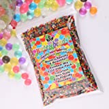 8oz Water Gel Beads Rainbow Mix jelly crystal balls for Kids Tactile Toy and Planting Flowers Décor
