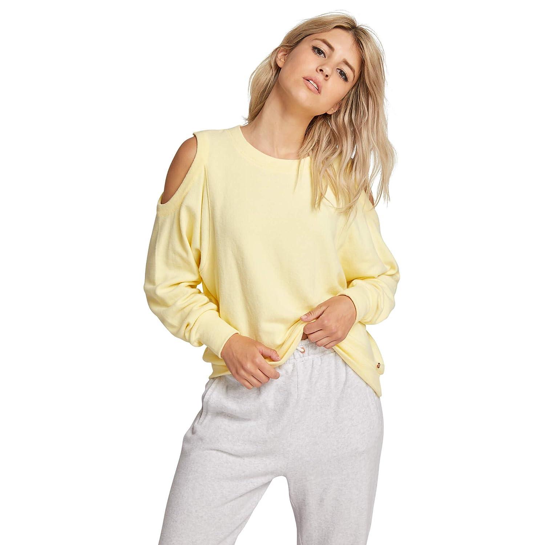 Volcom Womens Long Sleeved Lil Crew Neck Fleece