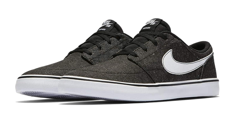 quality design b95ae bc54b Amazon.com   Nike Men s SB Solarsoft Portmore II Canvas Premium Skateboarding  Shoe Size 10.5 D(M) US   Fashion Sneakers