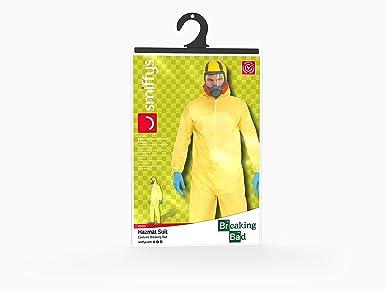 Amazon.com: Smiffys Breaking Bad Hazmat Costume Mens: Clothing