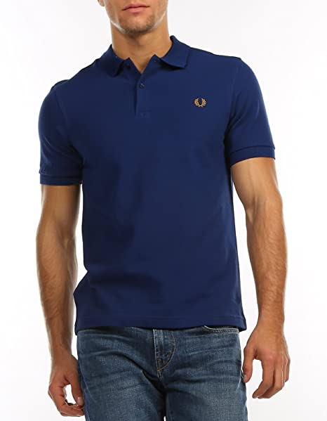 Fred Perry Polo Tennis vintage caballeros M6000 126 Azul Medieval ...