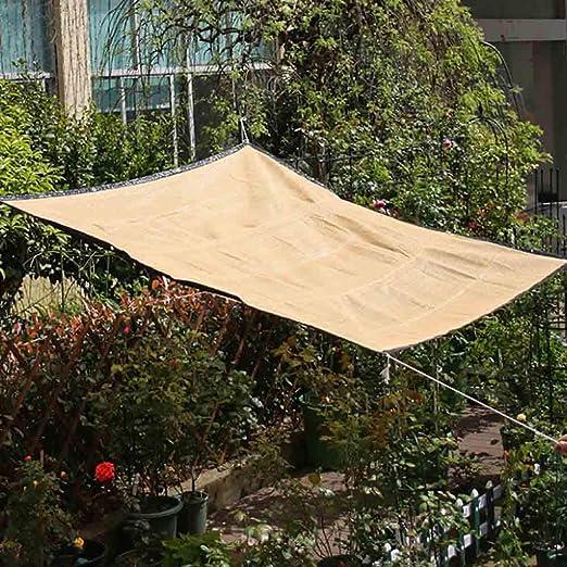 Skyoo Parasol Rectangular para Parasol, 6 pies x 10 pies, Sombra de Malla para Parasol, toldo para Coche, pergola, Flores de Invernadero, Plantas, césped de Patio y casa de Mascotas: Amazon.es: Jardín