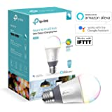 TP-Link Smart WiFi Hue Light Bulb, E27, 11W, Works with Amazon Alexa (Echo and Echo Dot), Google Home and IFTTT, Colour-Changeable, Dimmable, No Hub Required