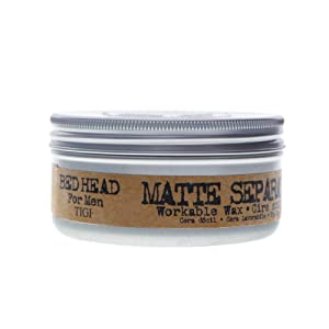 TIGI Bed Head for Men Matte Separation Workable Wax, 3 Ounce