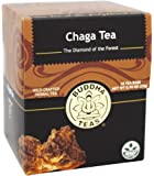 Chaga Tea - Powerful Antioxidants, Wild Harvested, Caffeine-Free - 18 Bleach-Free Te..