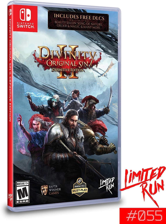 Divinity : Original Sin 2 II Definitive Edition - Standard Edition - Limited Run #055 - Nintendo Switch