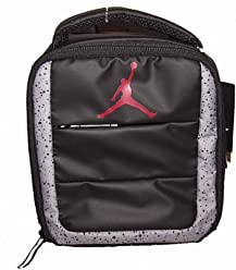 Nike Air Jordan Standing Up Right Lunch Tote Bag