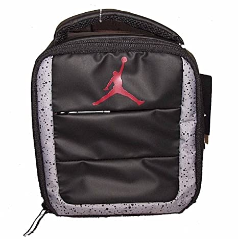 06161ea9583345 Image Unavailable. Image not available for. Color  Nike Air Jordan Standing  Up Right Lunch Tote Bag