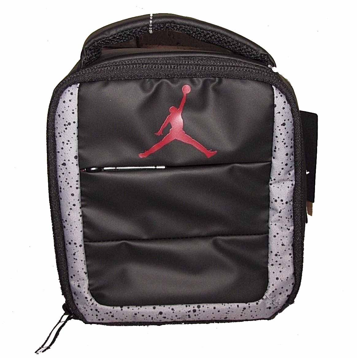 Nike Air Jordan Standing Up Right Lunch Tote Bag