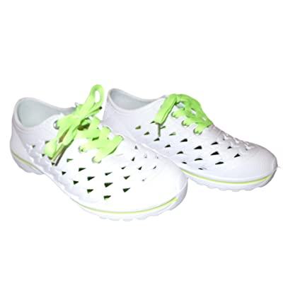 Amazon.com | 101 BEACH Ladies Sneaker Style Closed Cell Foam Water Shoes Size (6-11) | Water Shoes