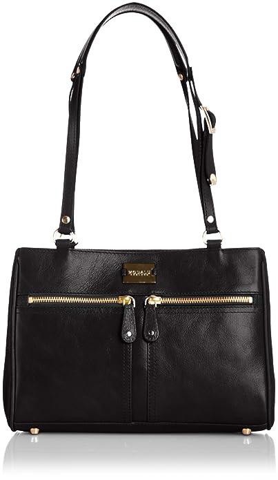 76e7572bf5 Modalu Womens Pippa 3 Shoulder Bag MH4575 Black