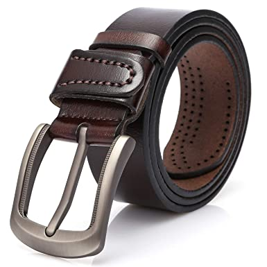 6d97f5cff27 Dovava Homme Ceinture Cuir