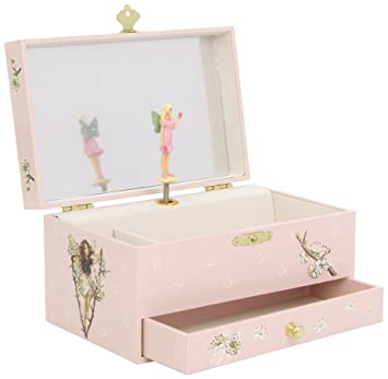 Trousselier Cherry Flower Fairies Musical Jewellery Box Amazonco