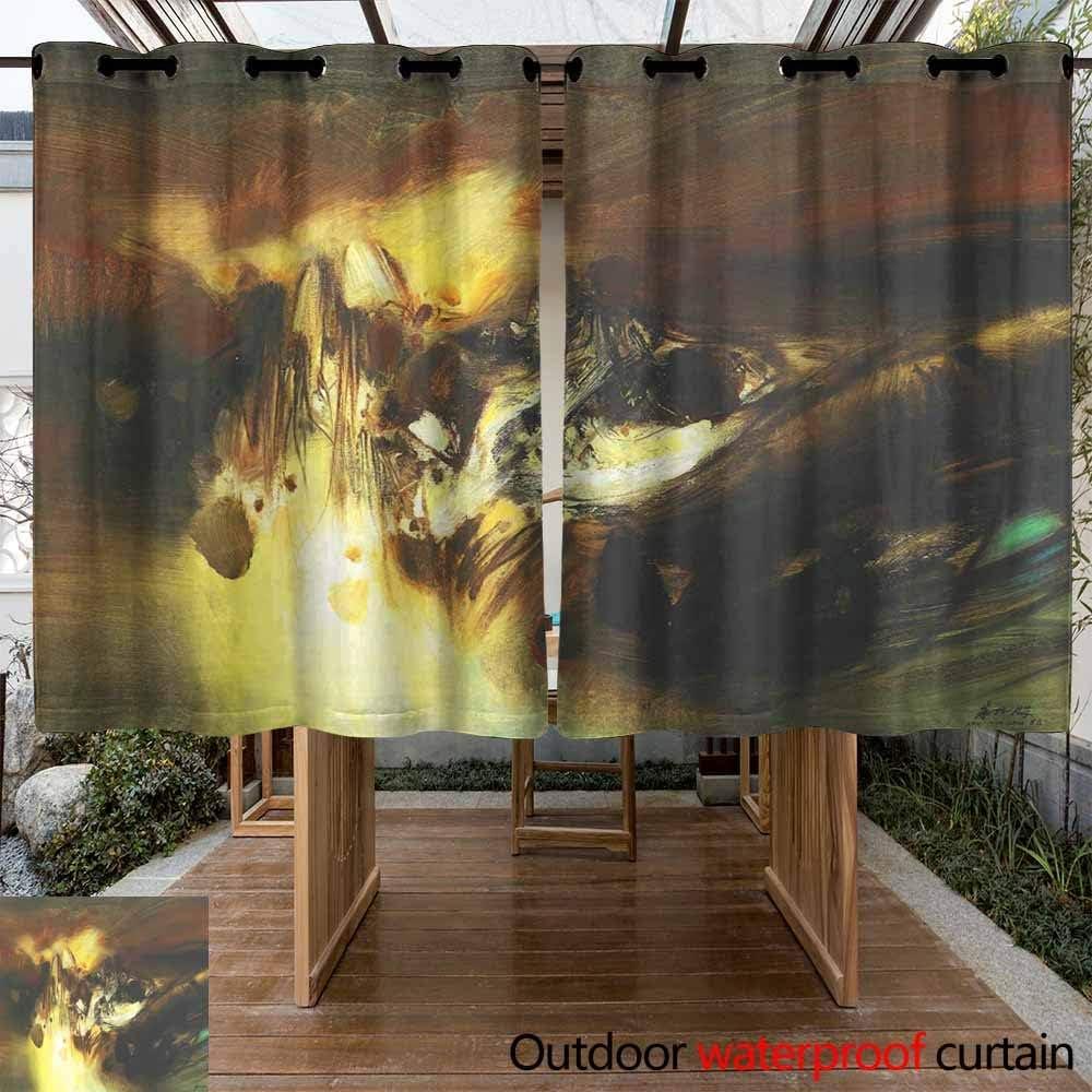 VIVIDX - Juego de 2 Cortinas para Exteriores con pestaña Superior para Patios y Zonas de pérgola al Aire Libre, filtrando el Resplandor: Amazon.es: Jardín