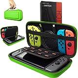 ORZLY Custodia da viaggio Nintendo Switch - Guscio protettivo portatile per Console e Accessori del Nintendo Switch - VERDE