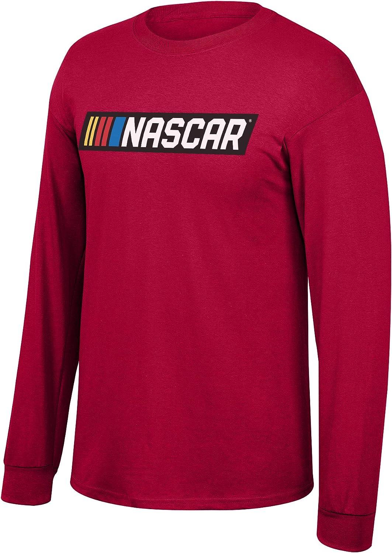 NASCAR Branded Merchandise Core Script Fan Favorite Red Hoodie
