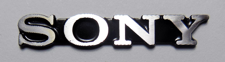 Amazon com sony emblem sticker badge 5 2 x 32 5mm 227