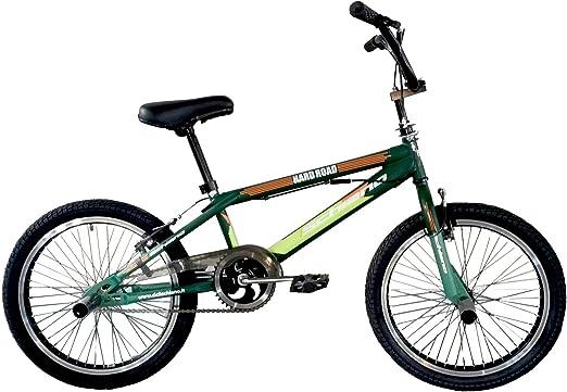 F.lli Schiano Hard Road BMX Bicicleta, Hombre, Verde Oscuro/Verde ...