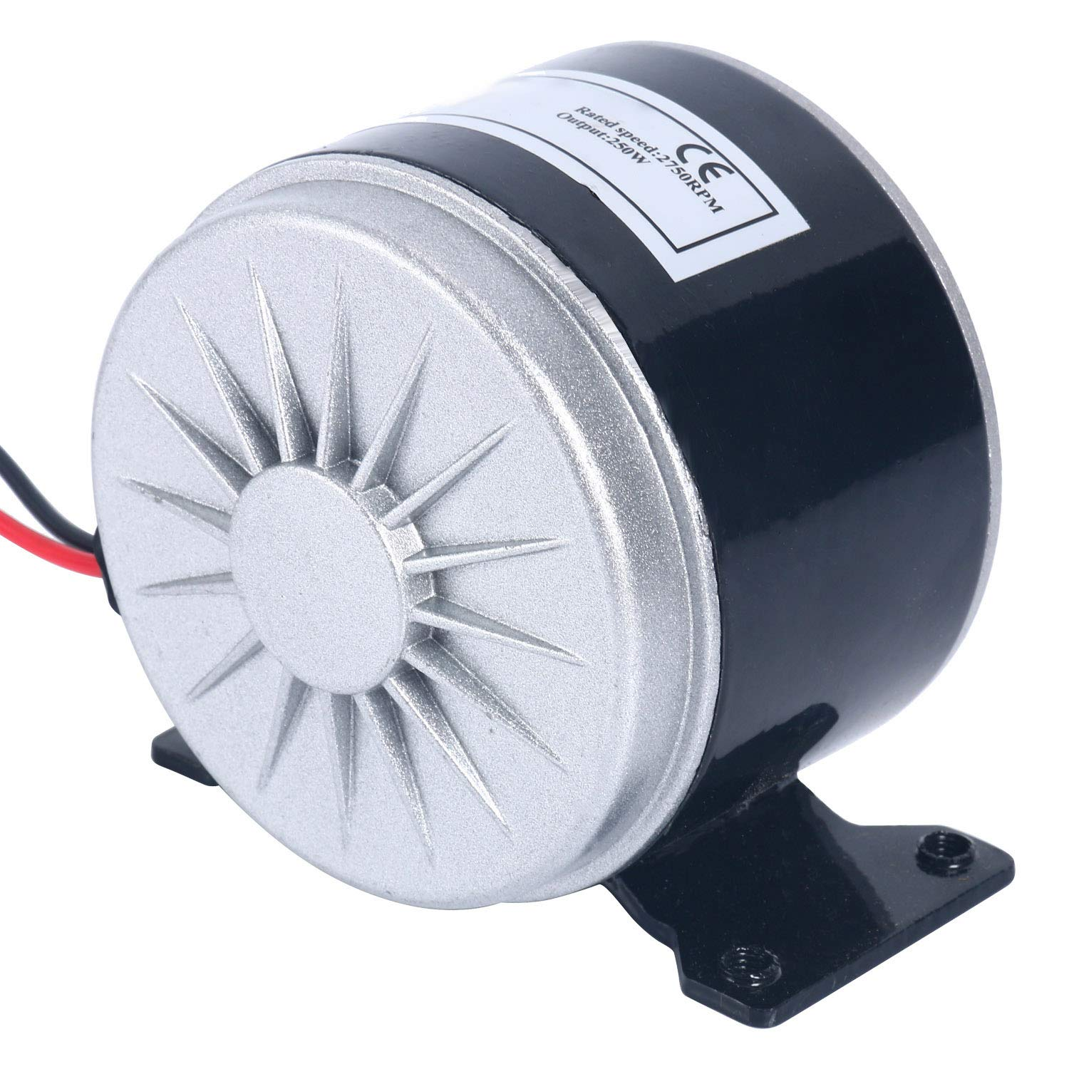 HYDDNice 24V DC Permanent Magnet Electric Motor Generator 250W 2750RPM Electric Motor Brushed for Wind Turbine E Scooter Drive Speed Control by HYDDNice