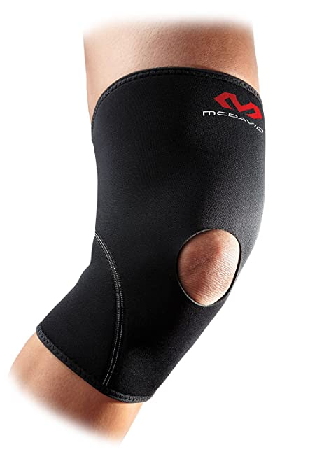 1c03f354dc Neoprene Knee Support: McDavid Knee Compression Sleeve - Provided Added  Thermal Compression and Support During Exercise for Men & Women - Includes  1 Sleeve ...