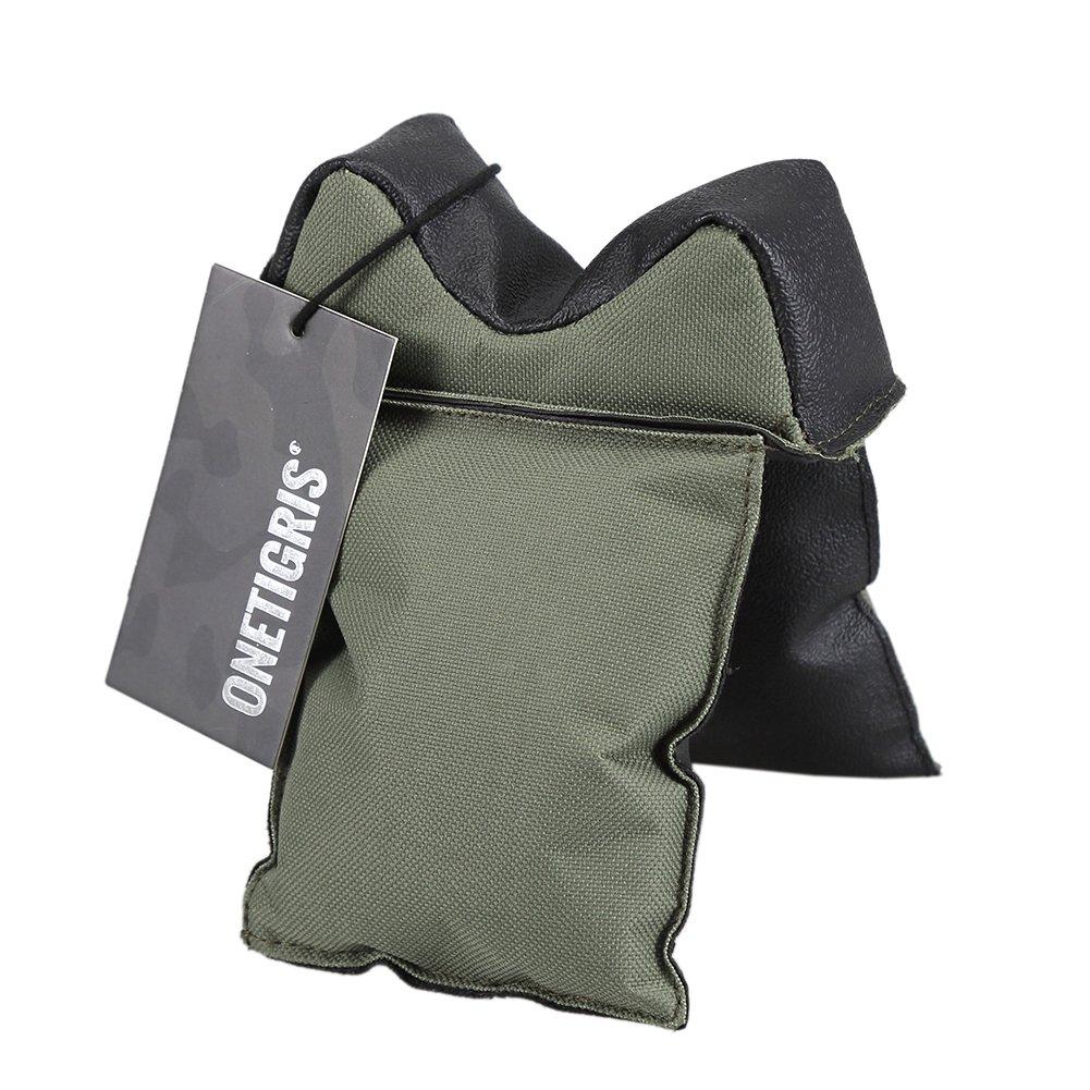 Bolsa para soporte de tiro de OneTigris, con relleno, para rifle, para objetivo de caza, Filled Gun Rest, negro TG-SSD01