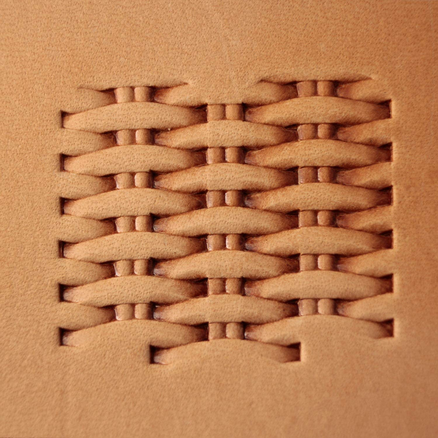 Basket Weave Leather Stamp Tool Stamps Stamping Carving Punches Tools Craft Leathercrafting