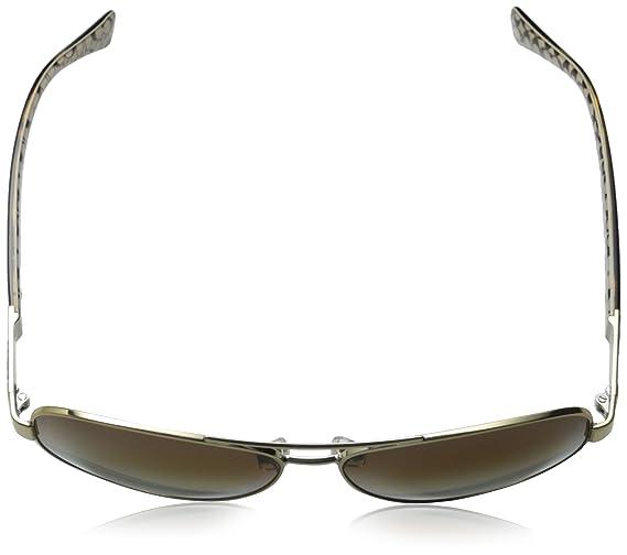 16df467892e7 ... clearance amazon coach womens christina sunglasses hc7047 gold brown  metal polarized 59mm shoes 8328c b7589