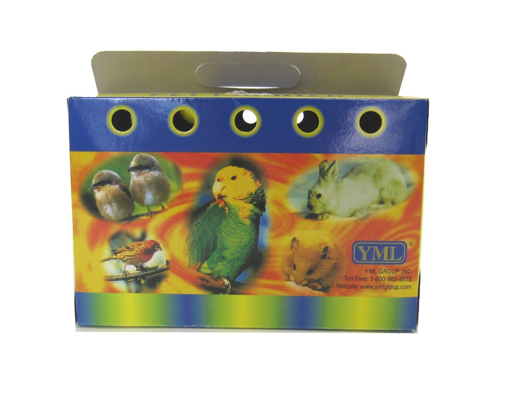 YML Cardboard Carrier for Small Animals or Birds, Large, Lot of 100