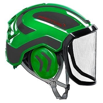 Protos integral - Casco de seguridad, color verde y negro ...
