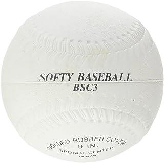 Softee - MOD. 0011210–Palla da Baseball, Colore: Bianca, Taglia: L
