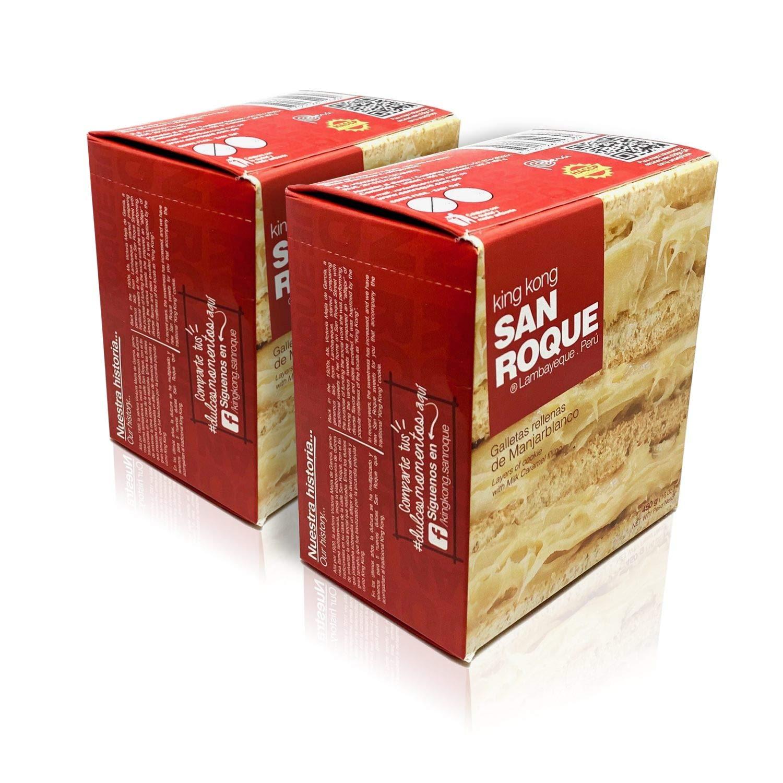 King Kong San Roque Relleno de Manjarblanco 16oz 2 Pack