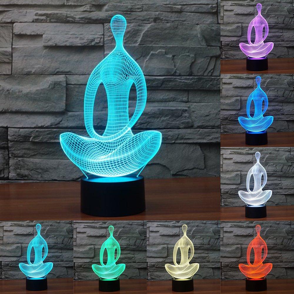 3D ナイトライト B071JVXF3F 10609 Yoga Yoga