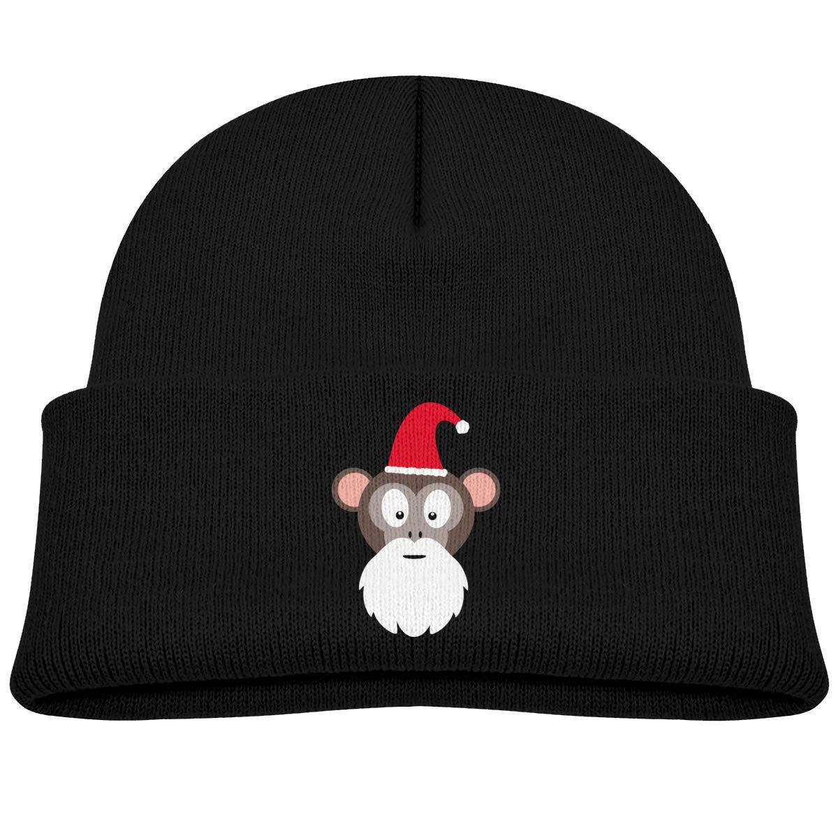 Hanfjj Kefdk Monkey Santa Infant Skull Hat Baby Girl Beanies Caps