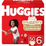 Huggies Little Snugglers Baby Diapers, Size 6 (35+ lb.), 50 Ct, Giga Jr Pack (Packaging May Vary)